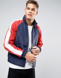 Hilfiger Denim Track Jacket Nylon In Navy afbeelding