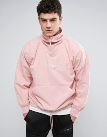 Illusive London Overhead Jacket In Pink afbeelding