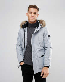 Jack & Jones Parka With Faux Fur Hood afbeelding
