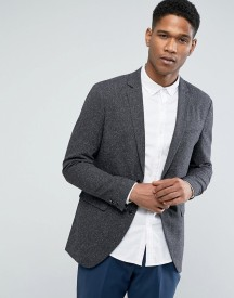 Jack & Jones Premium Slim Blazer In Fleck afbeelding