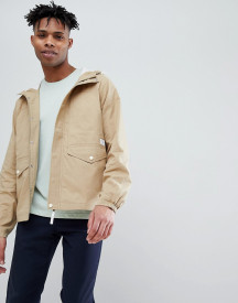 Jack Wills Hartley Cotton Parka In Sand afbeelding