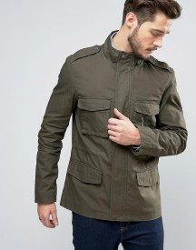 Jack Wills Kirkconnel Field Jacket In Olive afbeelding