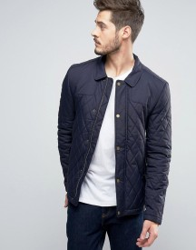 Jack Wills Speyview Quilted Jacket In Navy afbeelding