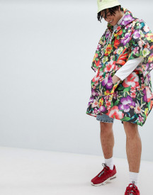 Jaded London Floral Print Festival Poncho afbeelding