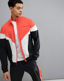 J.lindeberg Activewear Retro Softshell Jacket In Red afbeelding