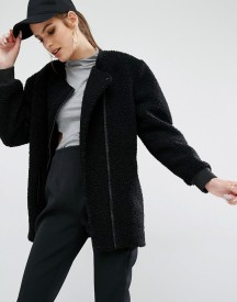 Kendall + Kylie Boucle Fall Coat afbeelding