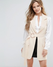 Lavish Alice Belted Trench Coat afbeelding