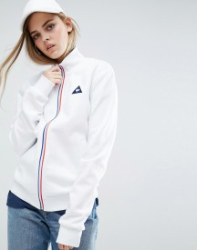 Le Coq Sportif Sweat Bomber Jacket With Tricolores Zip afbeelding