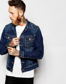 Lee Denim Jacket Rider Slim Fit Stretch Favourite Worn Mid Wash afbeelding