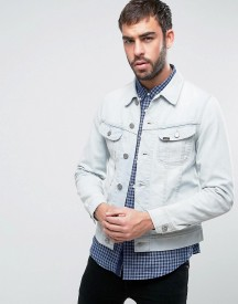 Lee Rider Denim Jacket Sun Bleach Wash afbeelding