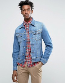Lee Rider Denim Jacket Worn In Wash afbeelding