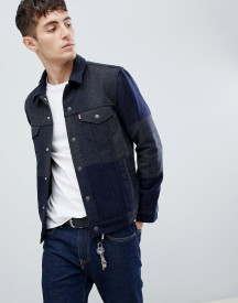 Levi's Large Check Wool Trucker afbeelding