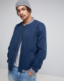 Levis Line 8 Bomber Jacket In Dress Blue afbeelding