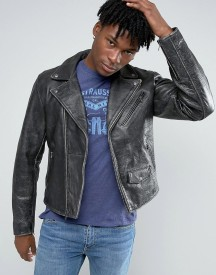 Levis Moto Vintage Leather Jacket afbeelding