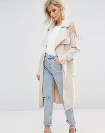 Lost Ink Cold Shoulder Jacket afbeelding