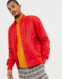 Love Moschino Back Print Lightweight Bomber Jacket afbeelding