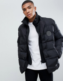 Love Moschino Double Layer Look Puffer Jacket afbeelding