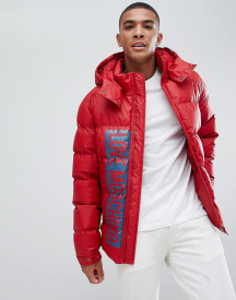 Love Moschino Printed Logo Puffer Jacket afbeelding