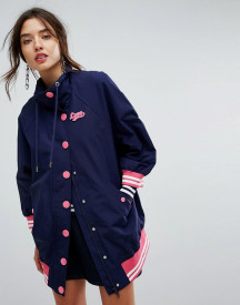 Love Moschino Sporty Oversized Bomber Jacket afbeelding