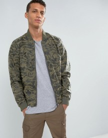 Loyalty And Faith Camo Bomber Jacket afbeelding