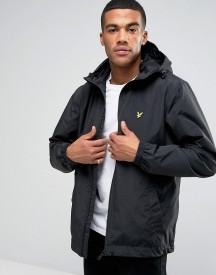 Lyle & Scott Jacket With Hood In Black afbeelding