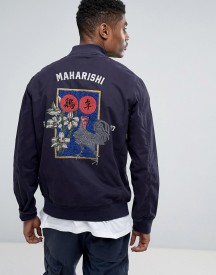 Maharishi Embroidered Stadium Jacket afbeelding