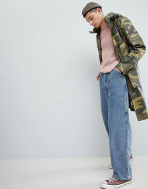 Mennace Parka Jacket In Camo afbeelding