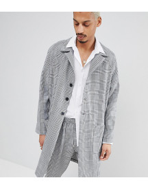 Milk It Duster Jacket In Check afbeelding
