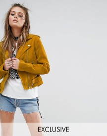 Milk It Vintage Suede Biker Jacket afbeelding