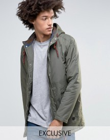 Minimum Shelton Hooded Parka In Khaki afbeelding