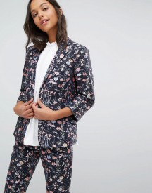 Miss Selfridge Floral Jacquard Blazer Co-ord afbeelding