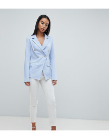 Missguided Tall Tailored Gold Button Blazer afbeelding