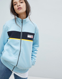New Balance Track Jacket In Blue afbeelding