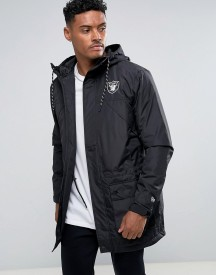 New Era Tech Series Oakland Raiders Parka afbeelding