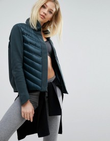 Nike Aeroloft Padded Bomber Jacket In Dark Green afbeelding