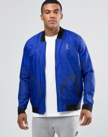 Nike Bomber Jacket In Navy 789568-455 afbeelding