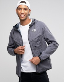 Nike International Hooded Jacket In Grey 802482-021 afbeelding