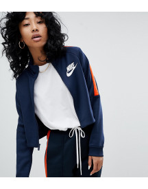 Nike N98 Polyknit Track Jacket In Blue And Orange afbeelding