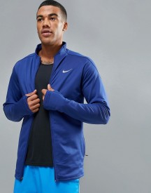 Nike Running Dri-fit Thermal Jacket In Blue 683582-455 afbeelding