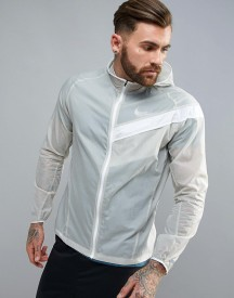 Nike Running Light Windbreaker Jacket In Grey 833545-042 afbeelding