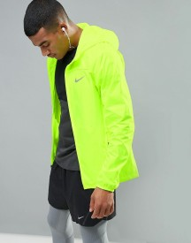 Nike Running Shield Hd Racer Jacket In Yellow 800492-702 afbeelding