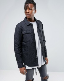 Nike Sb Quilted Overshirt In Black In Black 800973-010 afbeelding