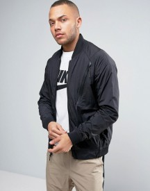 Nike Tech Hypromesh Varsity Jacket In Black 832190-010 afbeelding