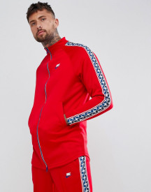 Nike Track Jacket With Taped Side Stripes In Red Aj2681-657 afbeelding