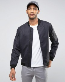 Only & Sons Bomber Jacket In Soft Touch Fabric afbeelding