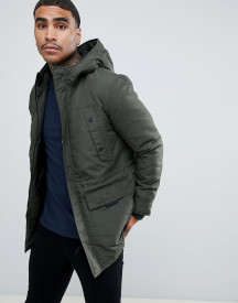 Only & Sons Parka With Fleece Lined Hood afbeelding