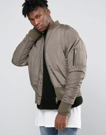Other Uk Oversized Bomber Jacket afbeelding