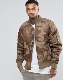 Other Uk Oversized Camo Bomber Jacket afbeelding