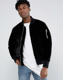 Other Uk Velvet Bomber Jacket afbeelding