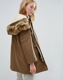 Parka London Alexia 3-in-1 Parka With Wearable Bomber Jacket Lining afbeelding